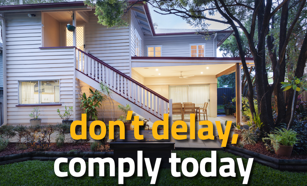 Comply to Queensland Legislation