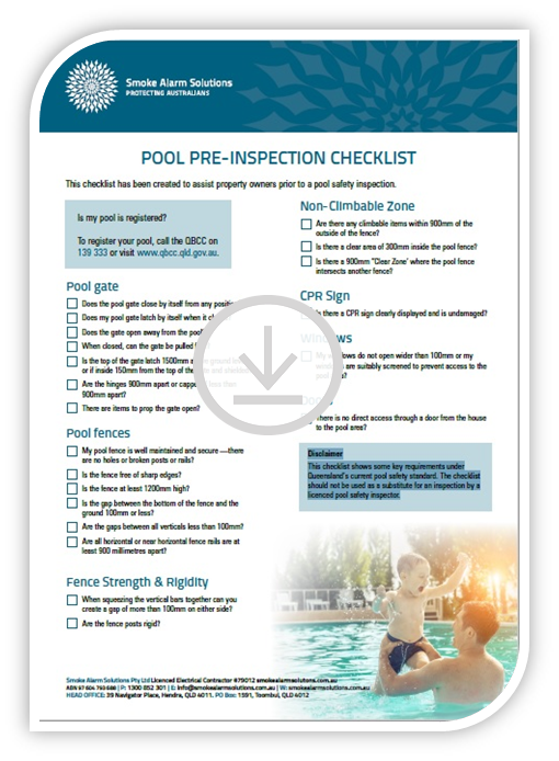 Pool Fence Checklist